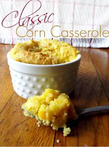 Classic 5-Ingredient Corn Casserole