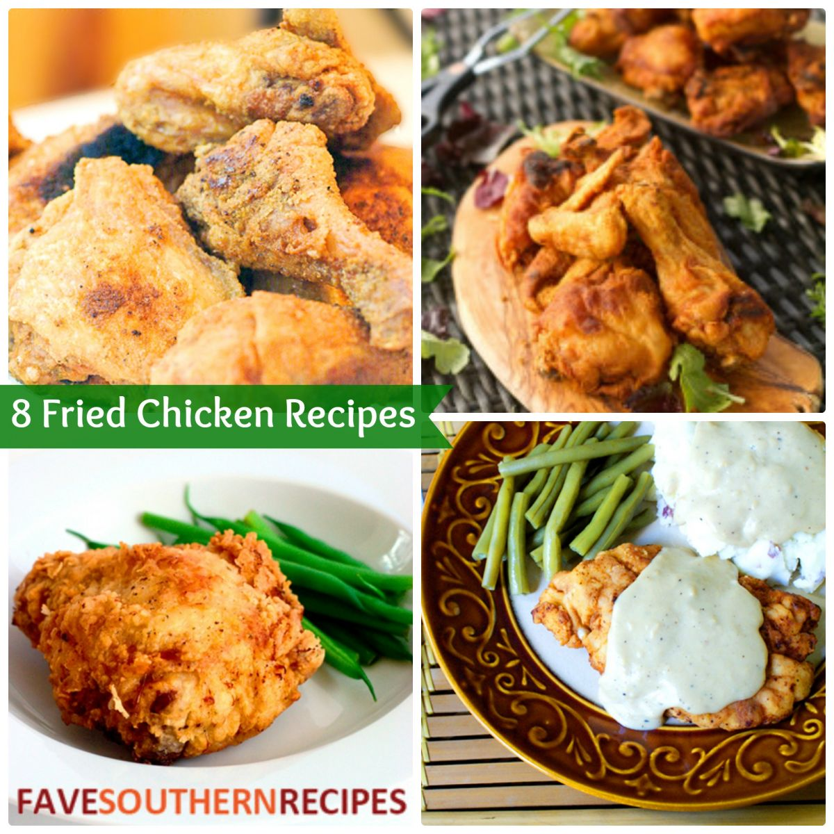 Fried Chicken Recipes | FaveSouthernRecipes.com