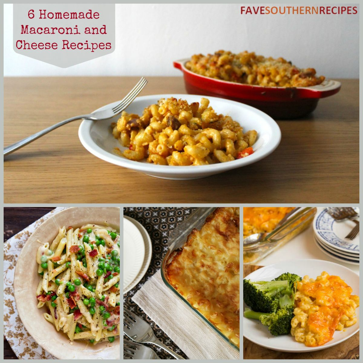 Southern Comfort Food: 12 Homemade Macaroni and Cheese Recipes ...
