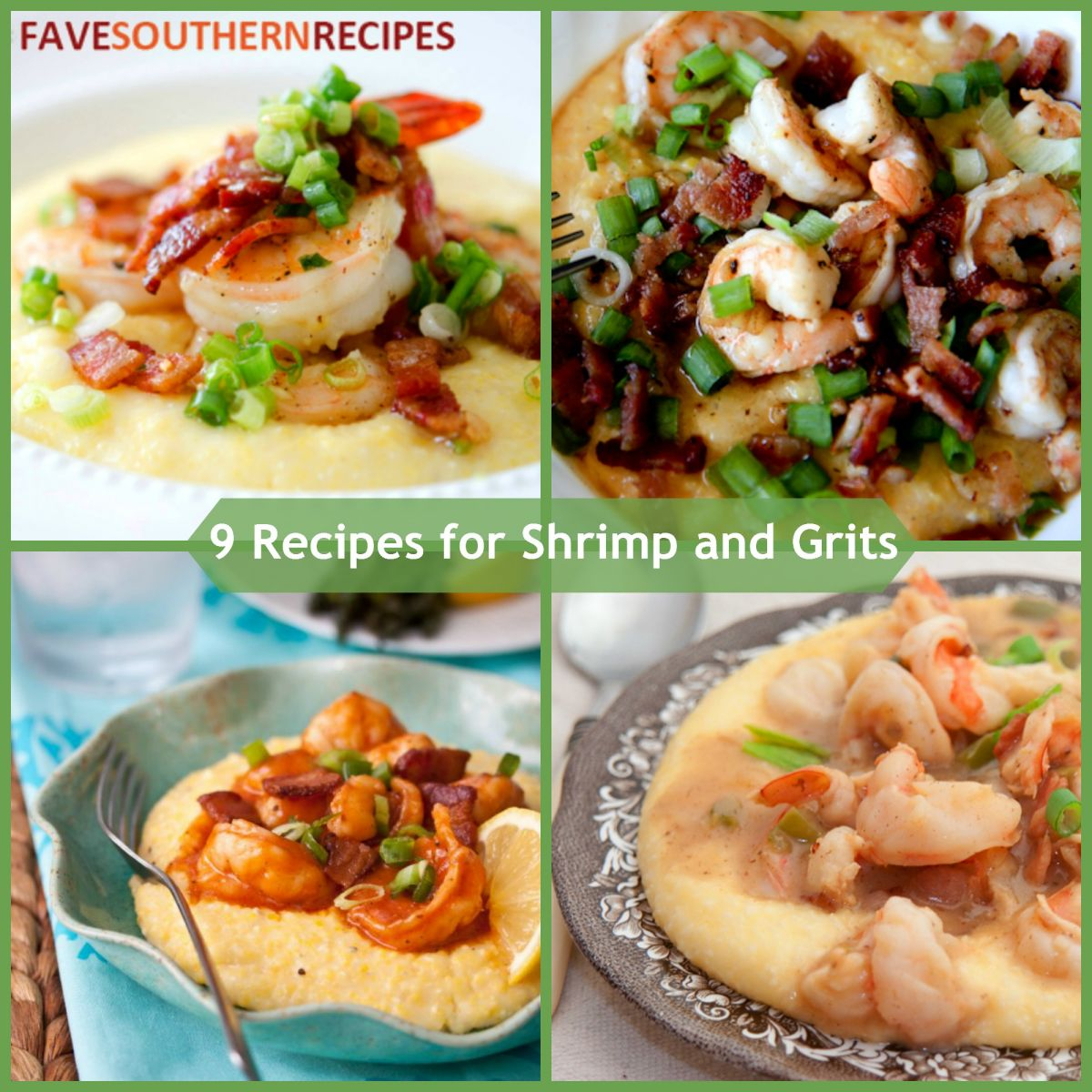 Recipes for Shrimp and Grits