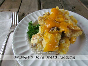 Savory Southern Bread Pudding