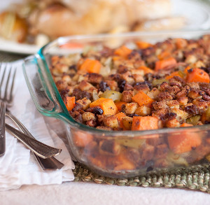 Sweet Potato Pecan Stuffing