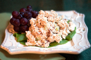 Toasted Pecan Chicken Salad